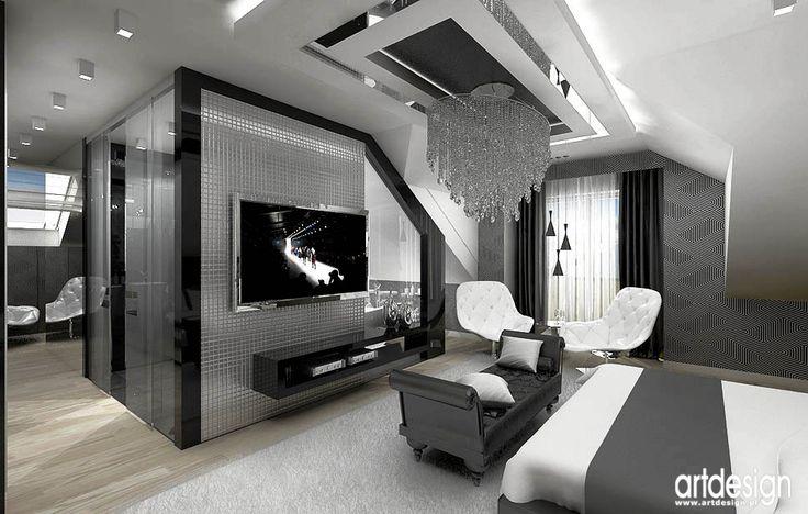 LUXURY DESIGN | Luksusowa sypialnia wnetrza
