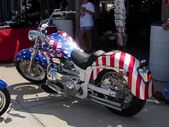 Custom Paint Ideas For Motorcycles | 27 Custom Painted Miscellaneous  Motorcycles From Bikes In The Fast
