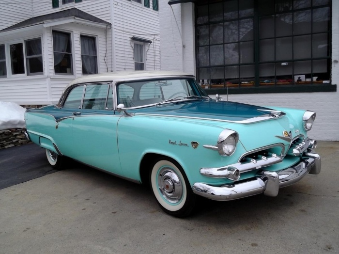 1955 Dodge Lancer Custom Royale, Frame Off Resto | Vintage cars from the fifties | Pinterest