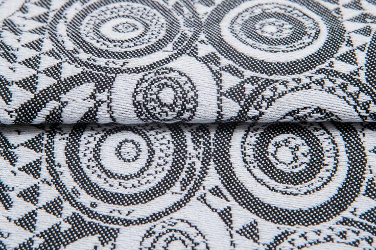 Playground Classic #weavingstudio #fabricart #cottonfabric #playground #black&white #classic