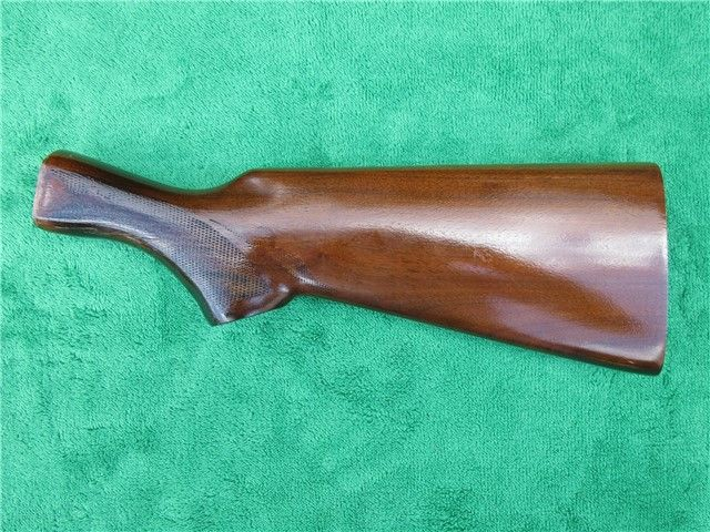 Remington 1100 Shotgun Butt Stock Checkered Wood - Shotgun