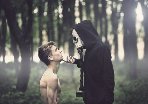 //: Forests, Gas Masks, Inspiration, Nature, Art, Boys, Posts, Hipster Photography, Gasmasks