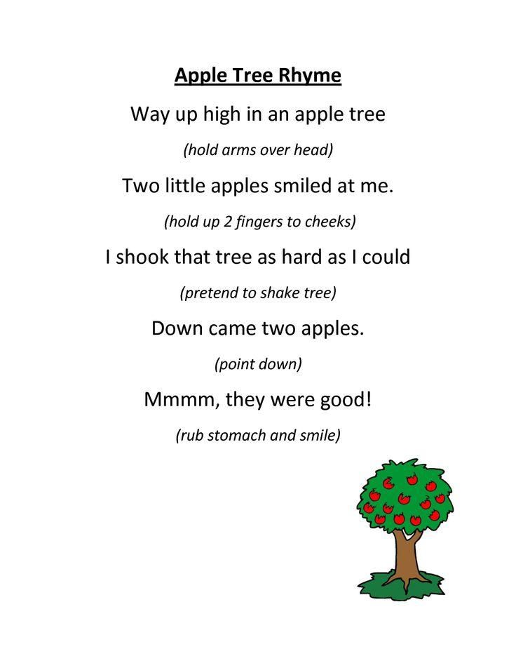 Preschool Apple Songs and Music