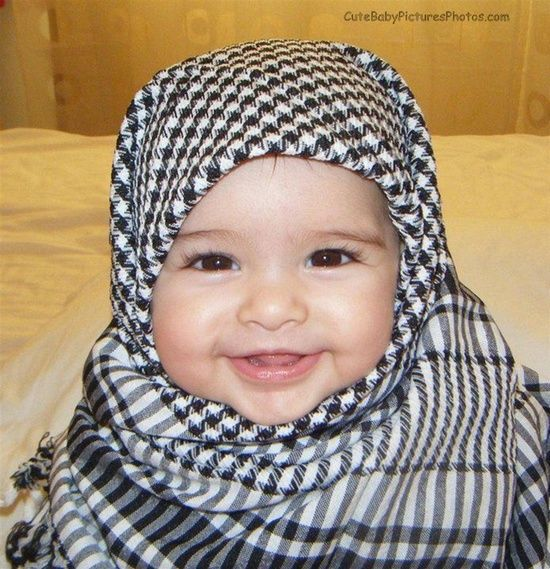 75 Best Baby Cute Hijab Images On Pinterest