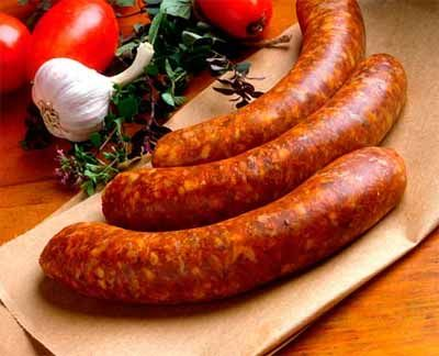 рецепт с большим количеством колбасы
