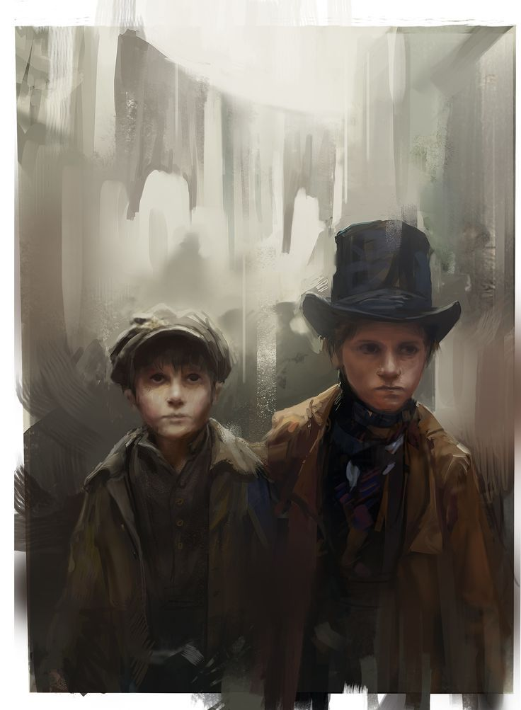 Oliver Twist by Beniek; Artists on Writers - No. 5, Charles Dickens by techgnotic on DeviantArt