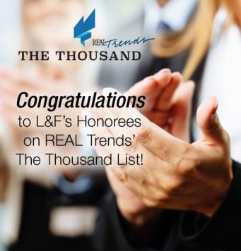 Long & Foster Sales Professionals Ranked Top in Nation in REAL Trends The Thousand - Long & Foster Newsroom