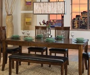 Best Dining Bench Images On Pinterest Dining Table With