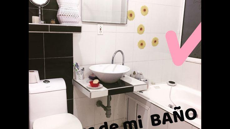 Tour de mi baño.  Bathroom ideas