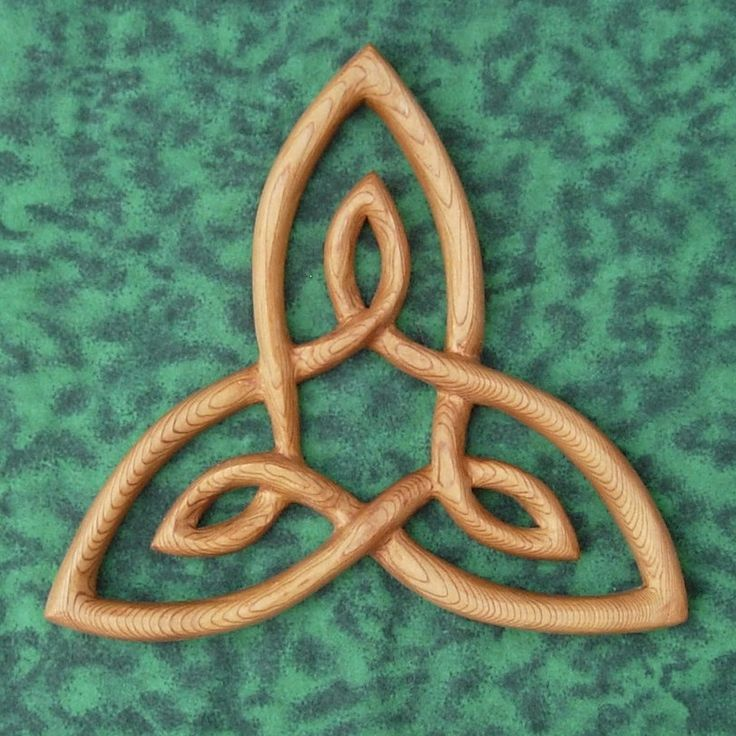 Triquetra-Knot of Inner Strength-2nd Law of the Hermetic Principles.
