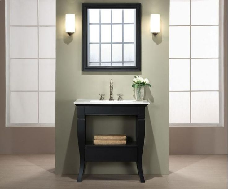 Wonderful Bathroom Vanities Houston #2: Vanity Shopstudio41, 30In Vanity, Black Vanity, Vanity Solid, Mirror Solid, Matching Mirror, Vanity Units, Club Bathroom, Inch Bathroom