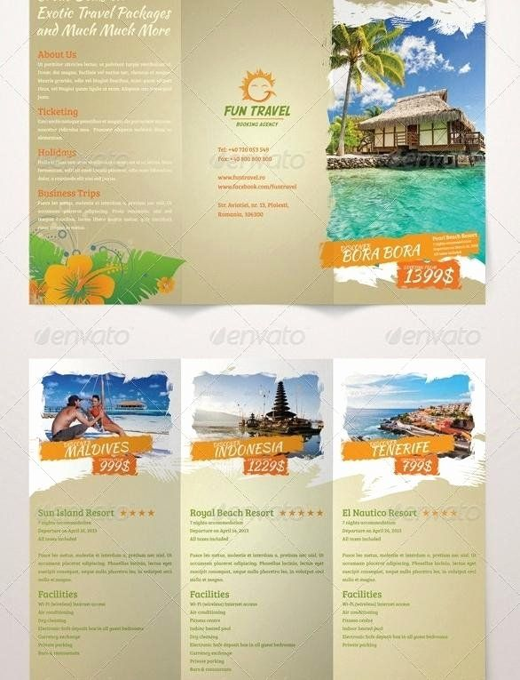 Travel Brochure Template For Students Luxury Travel Brochure Template For Students Marginesfo Travel Brochure Travel Brochure Template Travel Brochure Design