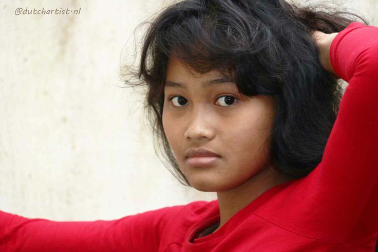 The Art of Natural Beauty. Model Ubud Bali. Ni Made Ovitayanti