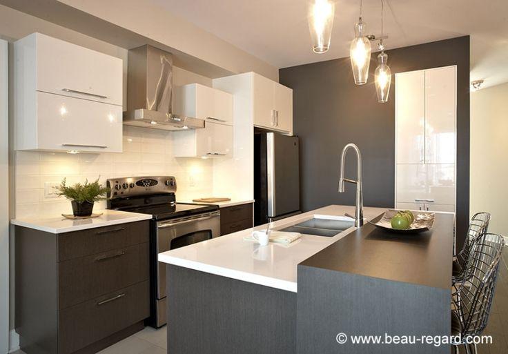 7514 best images about cuisine kitchen on pinterest for Cuisine contemporaine design