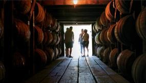 Buffalo Trace Distillery in Frankfort, Kentucky (a tour would be fun!)