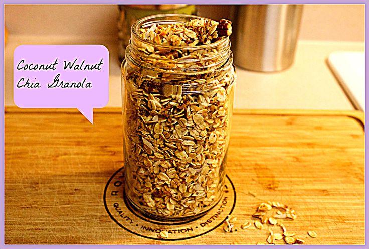Best homemade  Granola link :  https://accordingtobautista.com/2017/07/17/coconut-walnut-chia-granola/