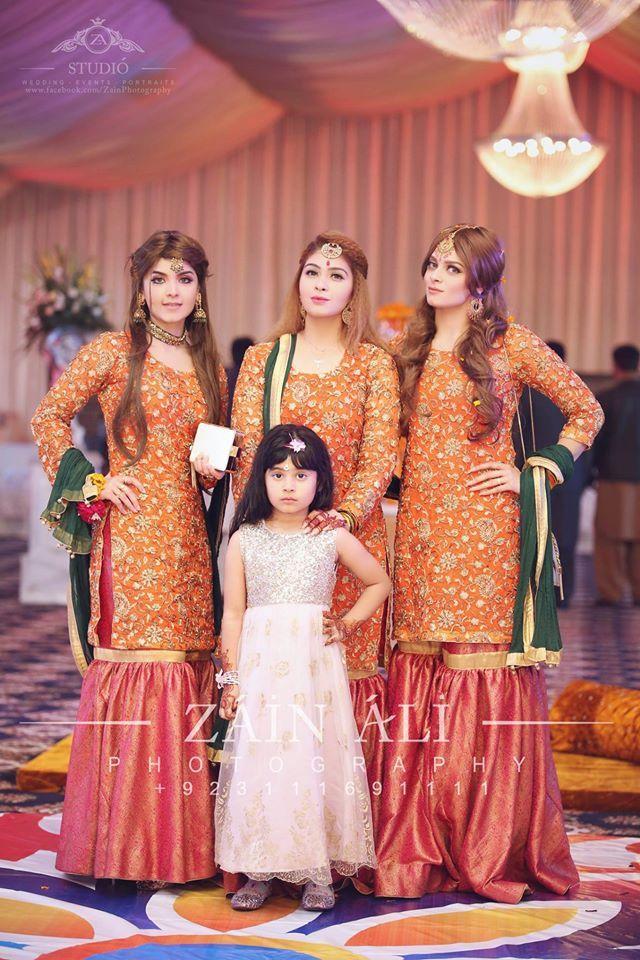 Nice dresses fpr mehndi function