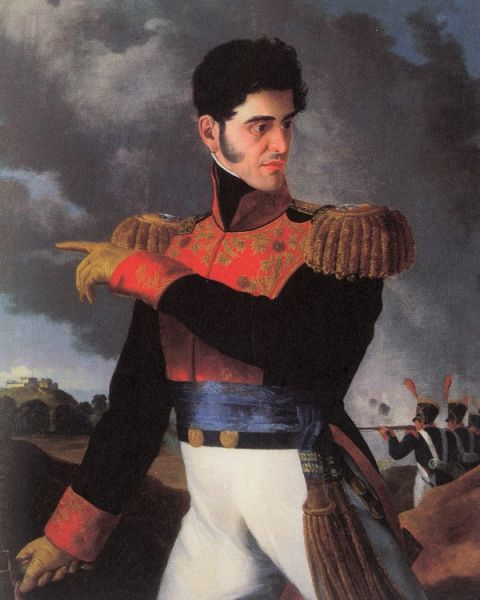 General Antonio López de Santa Anna, who was a military hero who became president of Mexico on multiple occasions. The Mexican Army's intervention in politics was an ongoing issue during much of the mid-nineteenth century.