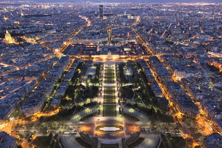 Paris bei Nacht von nautilusdiver