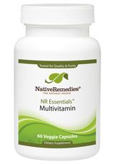NR Essentials Multivitamin is a natural supplement that can support the quest for good health. Its core elements include vitamins A through K, minerals and advanced nutrients like green tea extract and citrus bioflavonoids #naturalhealth #health #fitness