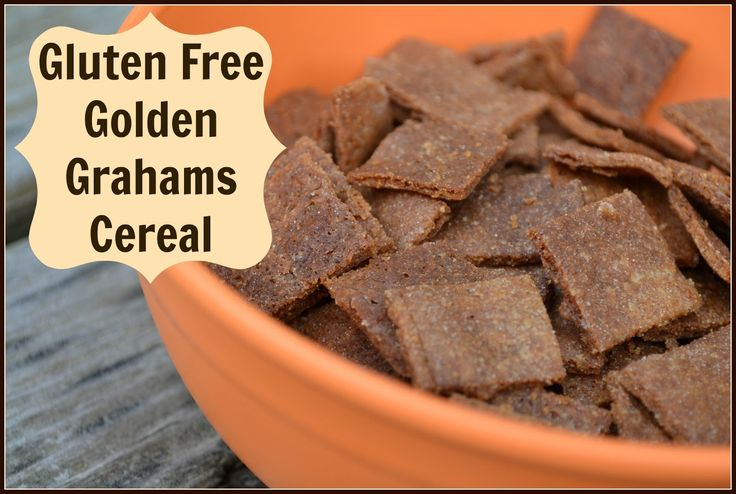 "Gluten Free ""Golden Grahams"" Cereal 