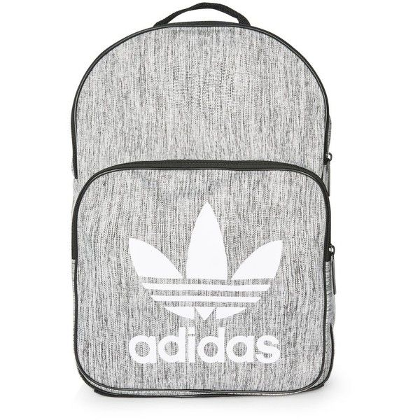 Grey Backpack by Adidas Originals ($32) ❤ liked on Polyvore featuring bags, backpacks, grey, day pack backpack, gray bag, gray backpack, sports bag and grey backpack