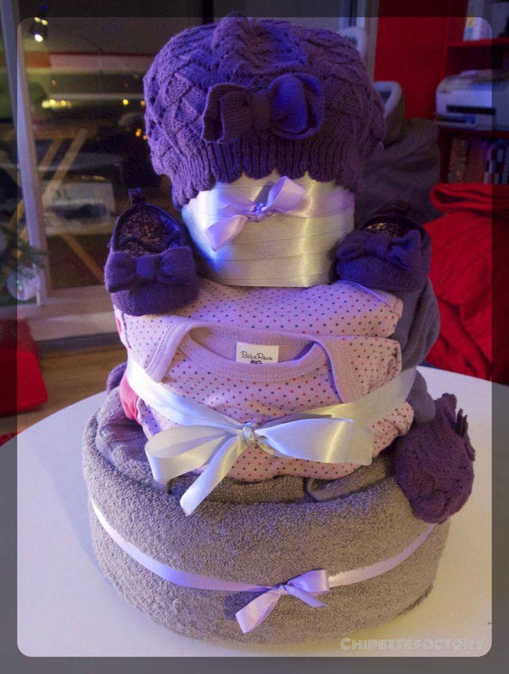 gateau de couche / diaper cake