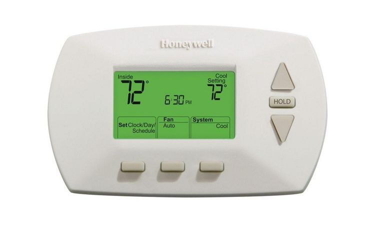 Day Programmable Thermostat Backlight Honeywell New LED Home AC Energy Saver  #Honeywell