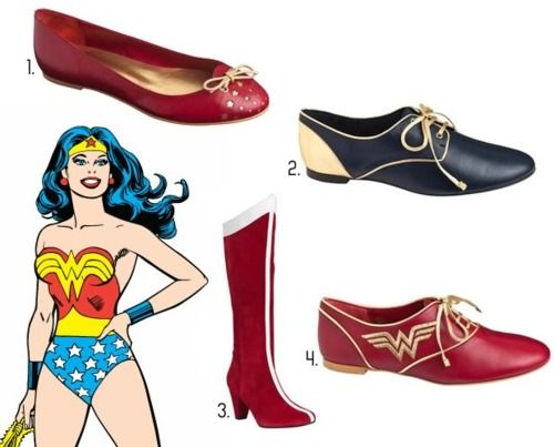 DC Women Kicking Ass - The French shoes inspired by DC Comics