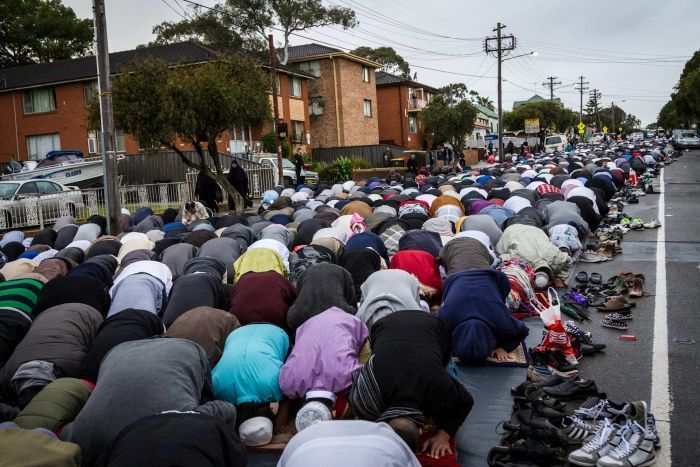 Muslims in Australia celebrate the end of Ramadan with Eid festival