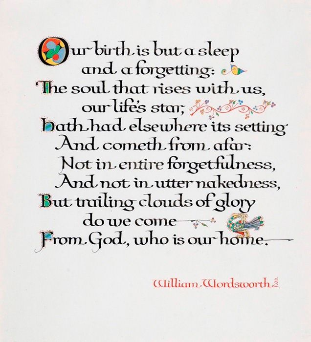 William Wordsworth Poems | William Wordsworth, Our Birth is But a Sleep