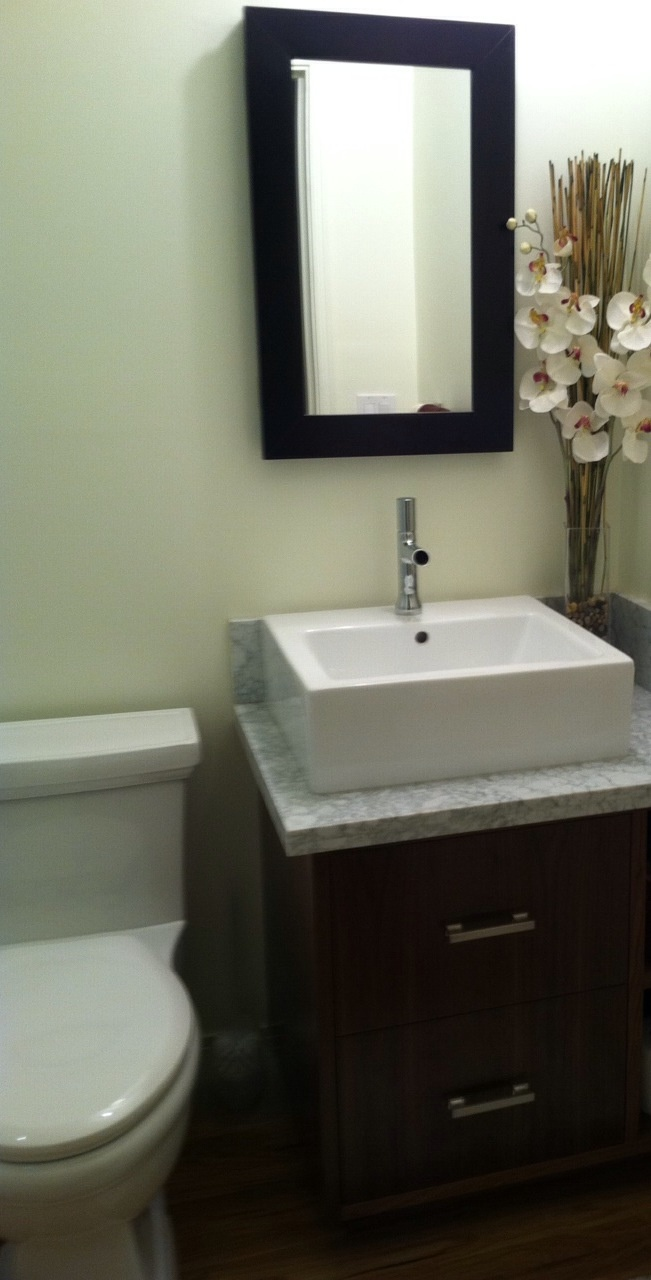 17 best images about bathroom style on pinterest guest for Guest bathroom remodel ideas