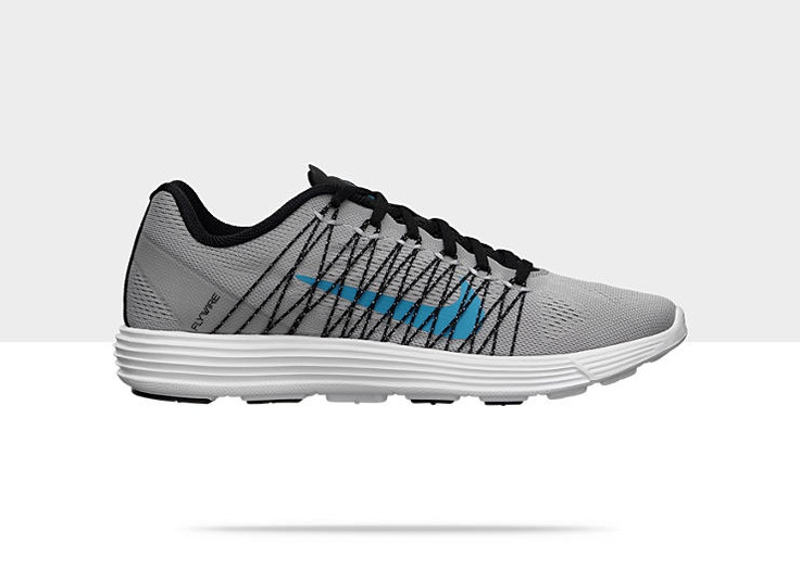 sale retailer 92373 7d9af ... The new Nike Lunaracer+ 3 in the Stadium Grey Neo Turqouise colorway is  now available.