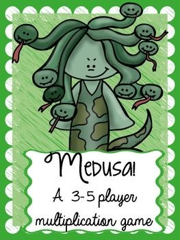 A fun multiplication fact game for kids featuring Greek mythology!