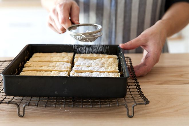 How to make shortbread fingers