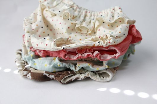 DIY Easy Sewing Baby Ruffle Diaper Cover Sewing Tutorial