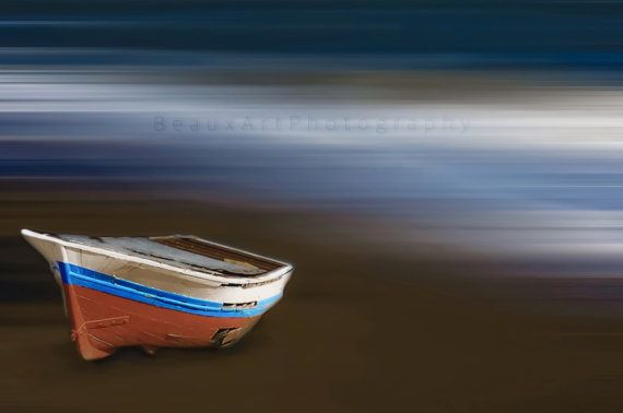 A stylised photography technique depicting an old boat sitting on sand. I live by the ocean and find that this influences the majority of my work. All photos are printed on professional photographic gloss finish paper. Watermark will not be on final print. Print does not come with border, frame or mount. Please feel free to contact me if you have any questions. To view more of my images please visit my website...traceyjonesstudio.com