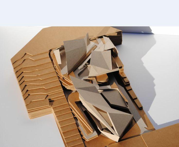 Studio 3: Infrastructure Parking, Supermarket, Aquatic Center model/over view (original - jpeg)