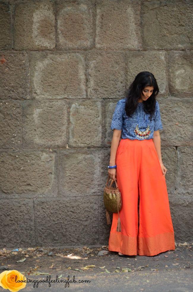 Top Indian fashion blogs : Palazzo pants