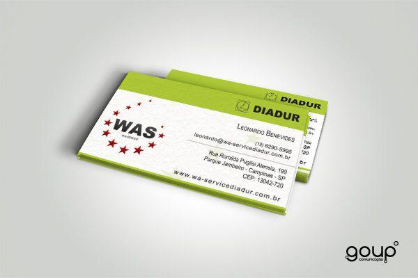 Cartão de visita - WAS