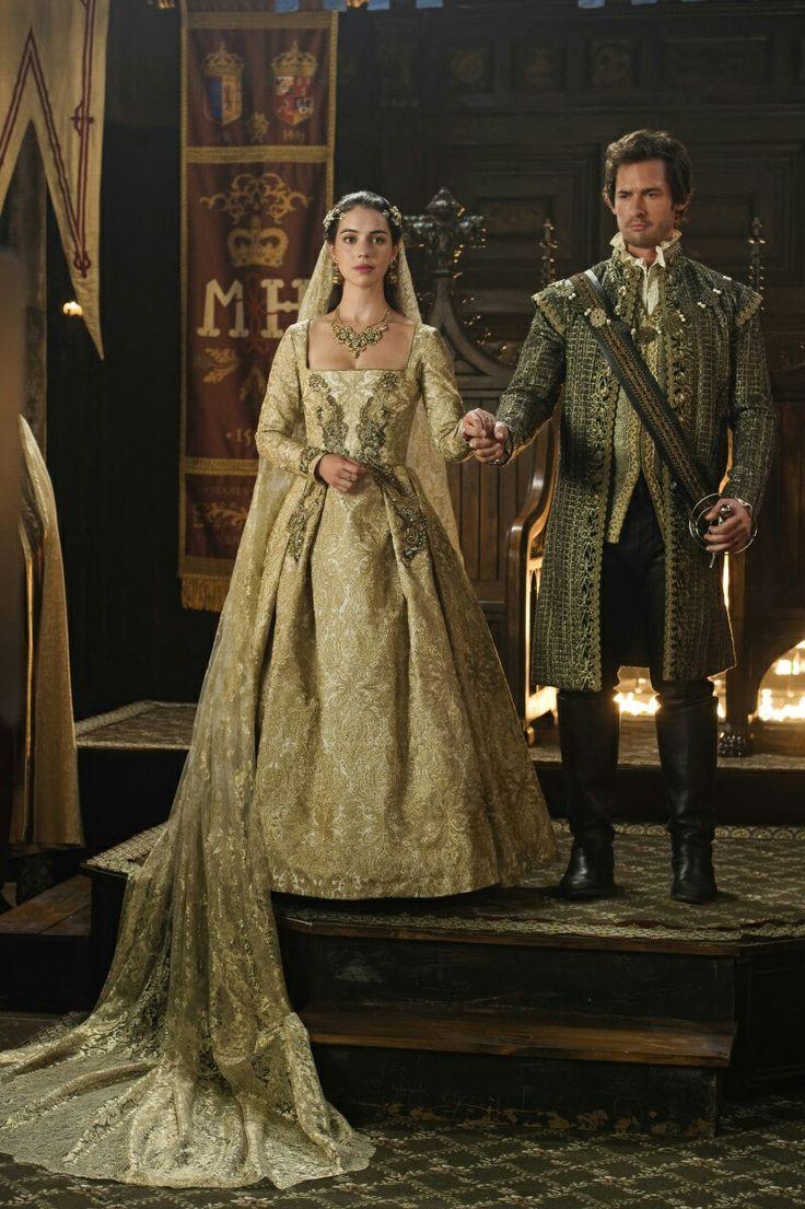 Best 25 reign season 4 ideas on pinterest reign watch for Reign mary wedding dress