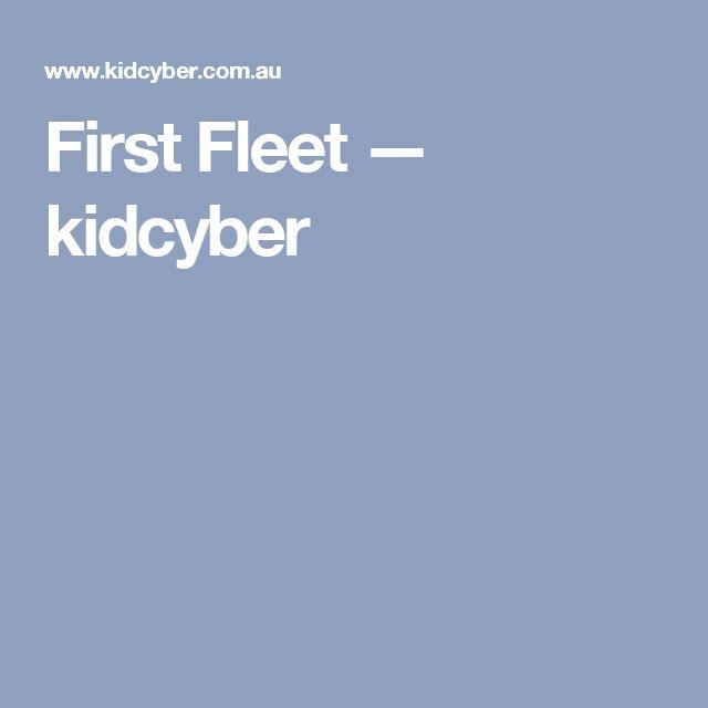 First Fleet — kidcyber