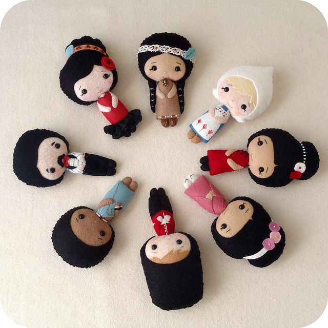 international doll collection by Gingermelon, via Flickr