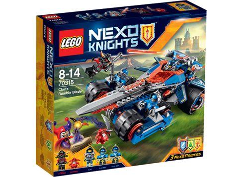 LEGO NEXO KNIGHTS 70315 Clays klingekjøretøy
