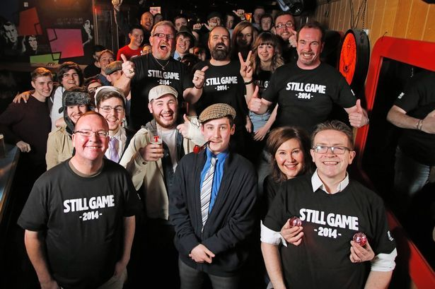 Still Game cast's surprise pub performance ensures Record writer ...