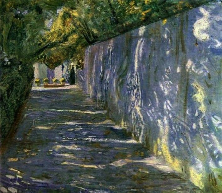 Isaac Brodsky - Sunlit Alley (1908)