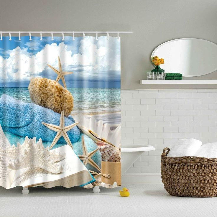 42 best Shower Curtains images on Pinterest | Fabric shower ...