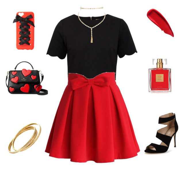 """""""Untitled #23"""" by tomas-fabricante on Polyvore featuring Ted Baker, Chicwish, BaubleBar, Sisley, Avon, Kate Spade, Cartier, Charlotte Russe and Carvela"""