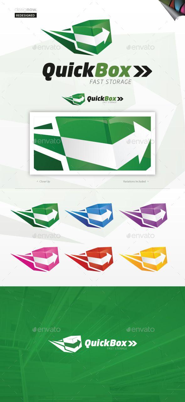 Quick Box - Logo Design Template Vector #logotype Download it here: http://graphicriver.net/item/quick-box/1165456?s_rank=29?ref=nexion