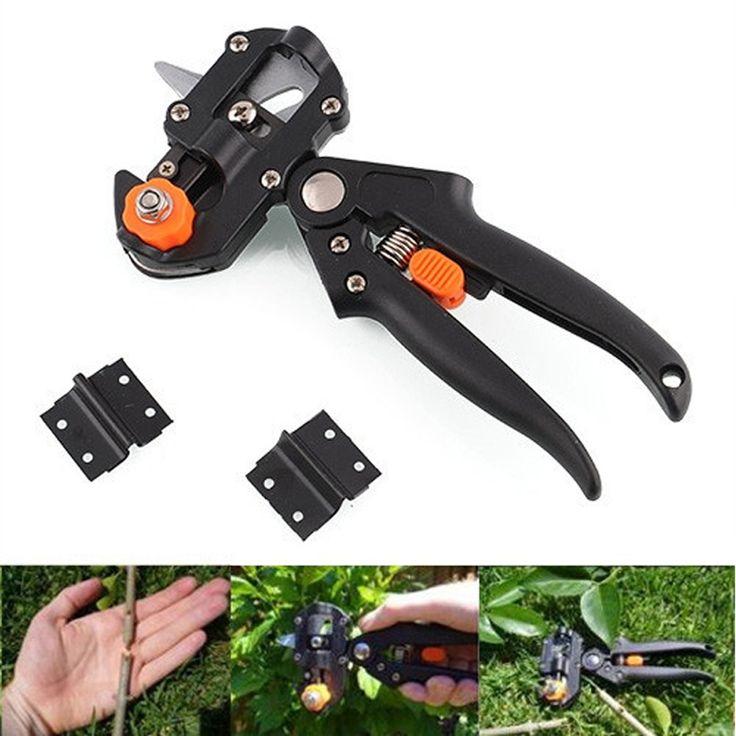 New Style Garden Fruit Tree Pro Pruning Shears Scissor Grafting cutting Tool + 2 Blade garden tools set pruner Tree Cutting Tool